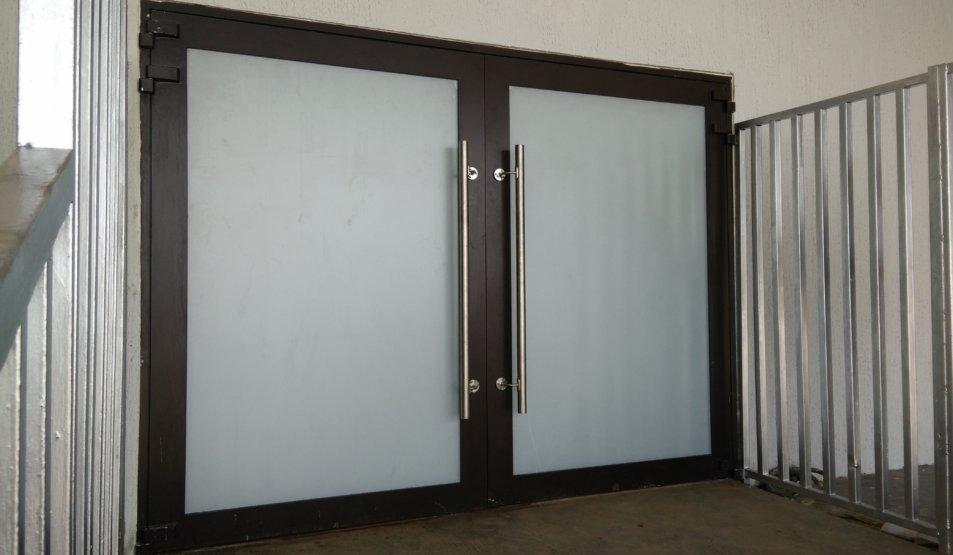 Protech Securit - Bullet-proof double-leaf doors