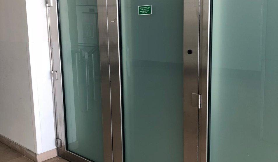 Protech Securit - Bullet-proof Double leaf doors