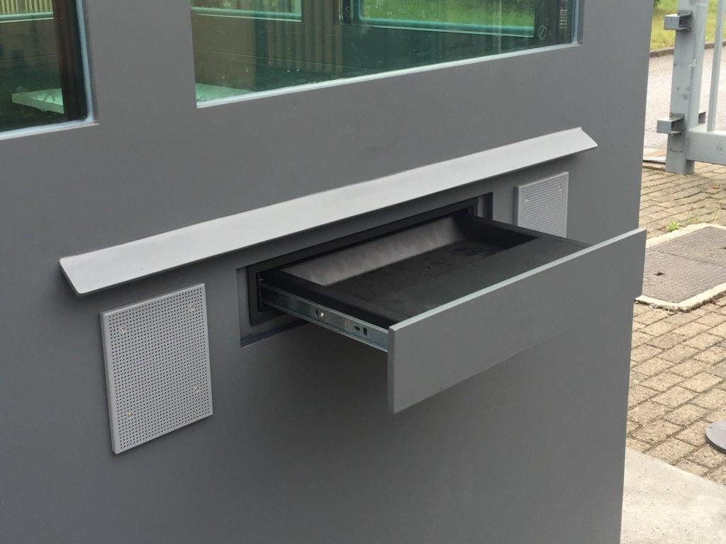 Protech Securit - passe through drawer