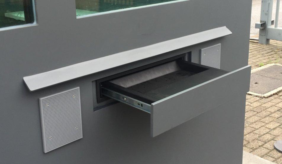 passe through drawer